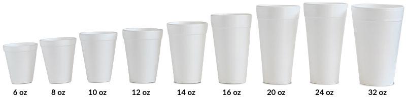 Styrofoam Cup Comparison Image