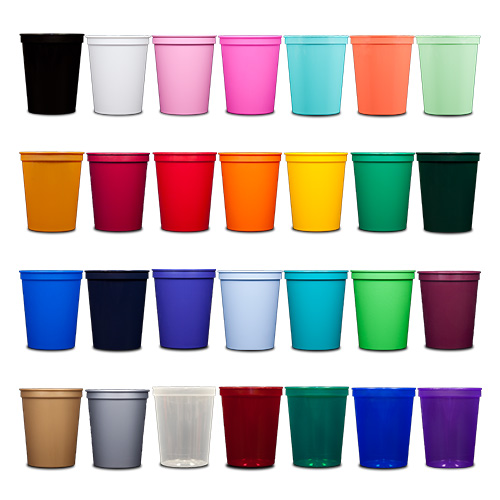16 oz Stadium Cups - All Colors
