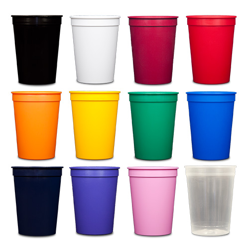 12 oz Stadium Cups - All Colors