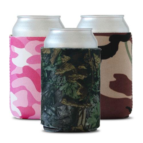 Camouflage Pocket Koozies