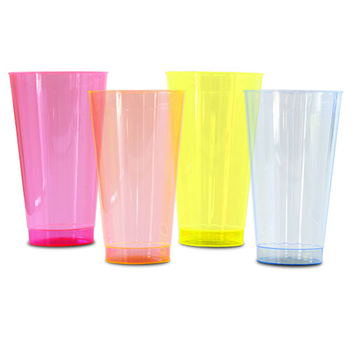 16 oz Clear Plastic Brite Cups