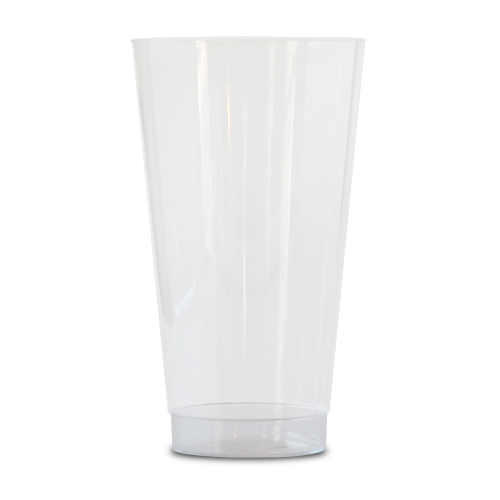 16 oz Clear Plastic Glass