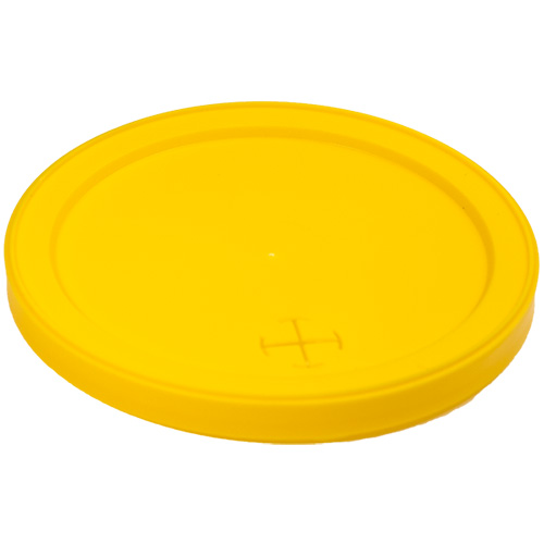 12 oz Stadium Cup Lids - Yellow
